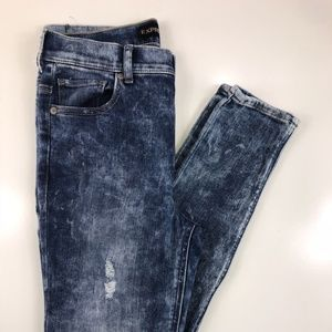 Express Jeans - Express High RIse Legging Tie Dyed Jeans BZ25